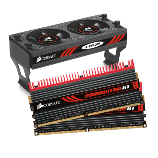 DOMINATOR® GT with DHX Pro Connector and Airflow II Fan — 4GB Dual Channel DDR3 Memory Kit