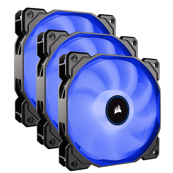 Air Series™ AF120 LED (2018) Blue 120mm Fan Triple Pack