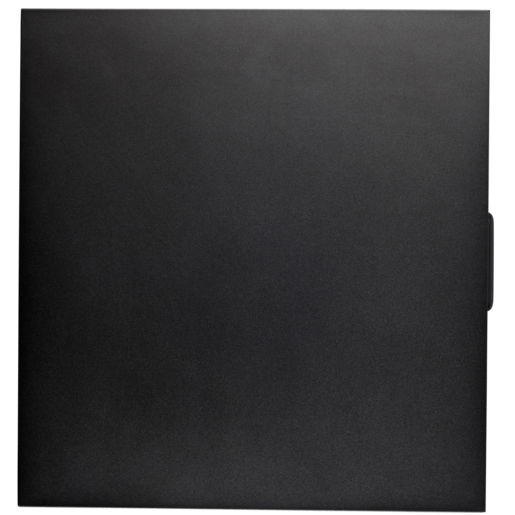 Carbide 400C Late 2016, Crystal Series™ 460X Solid Side Panel, Black