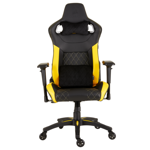 Sedia da gaming T1 RACE 2018 — Nero/Giallo