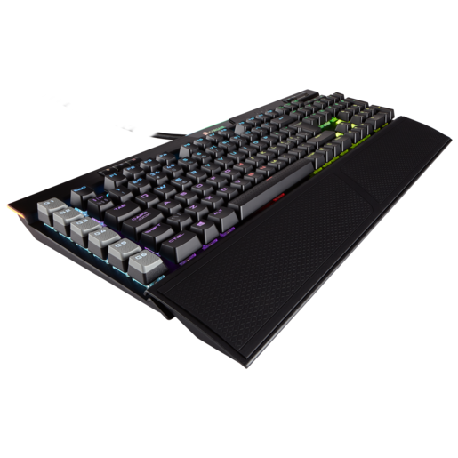 K95 RGB PLATINUM Mechanical Gaming Keyboard — CHERRY® MX Speed — Black