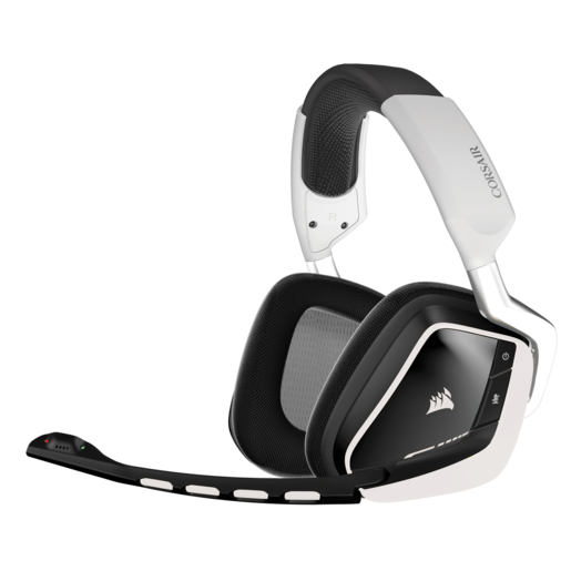 VOID Wireless Dolby 7.1 RGB Gaming Headset — White (AP)