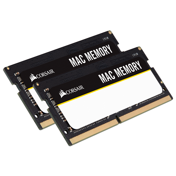 CORSAIR Mac Memory 32GB (2 x 16GB) DDR4 2666MHz C18 Memory Kit