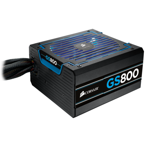 GS Series™ GS800 — 80 PLUS® Bronze Certified Power Supply