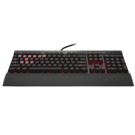 VENGEANCE® K70 Fully Mechanical Gaming Keyboard Anodized Black — CHERRY® MX Blue (CH)