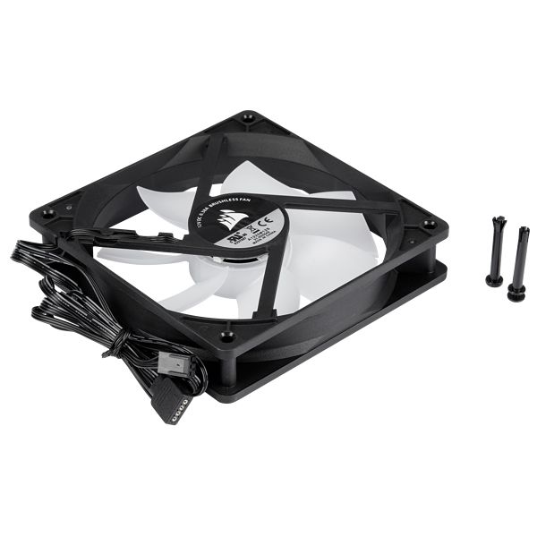 Carbide SPEC-DELTA RGB +12V RGB Fan, 120mm, 1300 RPM