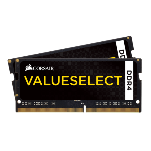 Kit di memoria Corsair C15 2133 MHz SO-DIMM DDR4 da 8 GB (2 x 4 GB)