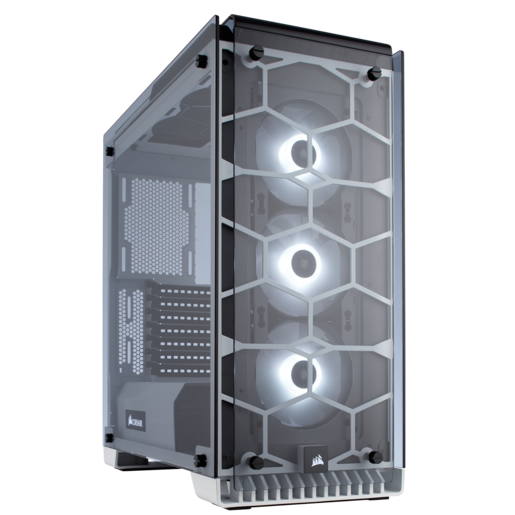 Crystal Series 570X RGB ATX Mid-Tower Case — White