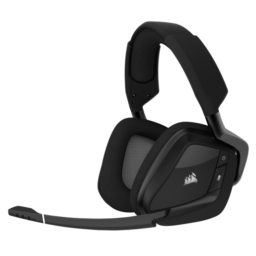 VOID PRO RGB Wireless Premium Gaming Headset with Dolby® Headphone 7.1 — Carbon (EU)
