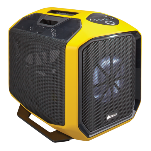 Graphite Series™ 380T Yellow Portable Mini ITX Case