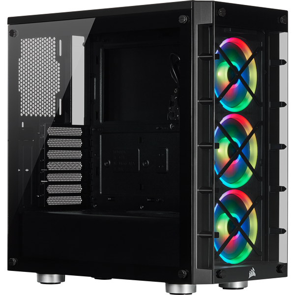 iCUE 465X RGB Mid-Tower ATX Smart Case — Black