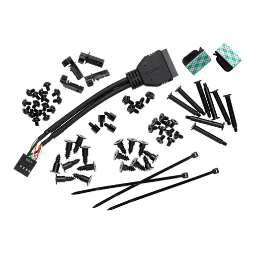 Obsidian Series™ 550D accessory kit (including screws)