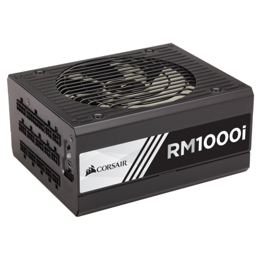 RMi Series™ RM1000i — 1000 Watt 80 PLUS® Gold Certified Fully Modular PSU (UK Plug)