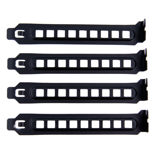 Carbide 400R Case - PCI Slot Covers (pack of 8, vented, black)