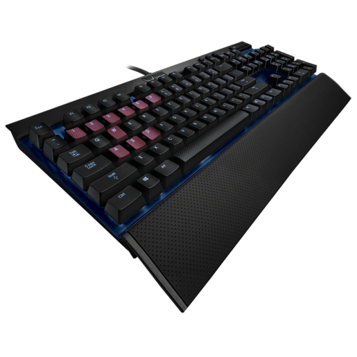 CORSAIR Gaming K70 Mechanical Gaming Keyboard — Blue LED — CHERRY® MX Red (FR)