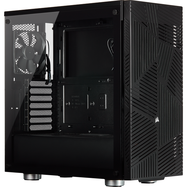 275R Airflow Tempered Glass Mid-Tower Gaming Case — Black