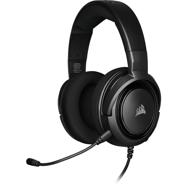 HS35 Stereo Gaming Headset – Carbon