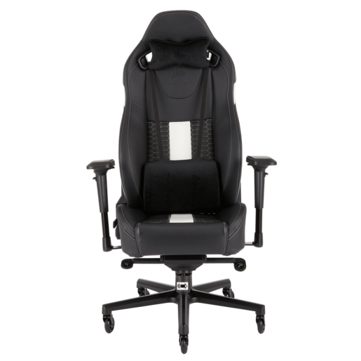 T2 ROAD WARRIOR Gaming Chair — Black/White