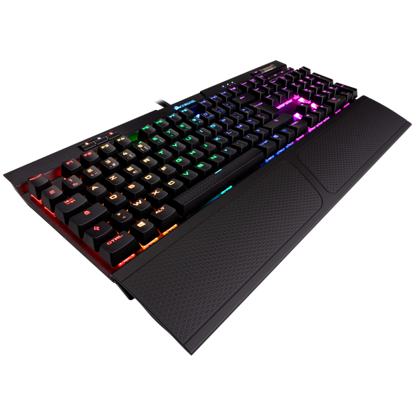 K70 RGB MK.2 Mechanical Gaming Keyboard — CHERRY® MX Red (FR)