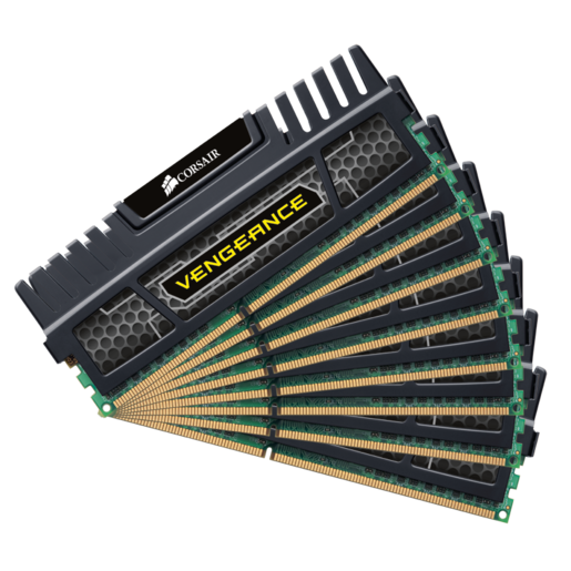 Vengeance® — 64GB Quad Channel DDR3 Memory Kit