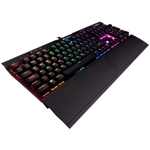 K70 RGB MK.2 RAPIDFIRE Mechanical Gaming Keyboard — CHERRY® MX Speed (DE)
