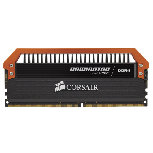 DOMINATOR® PLATINUM 16GB (4 x 4GB) DDR4 DRAM 3400MHz C16 Memory Kit — Limited Edition Orange