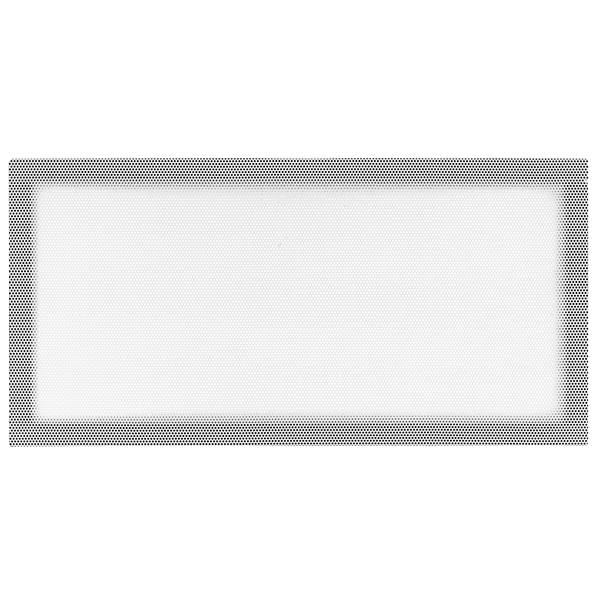 Crystal 280X Side Magnetic Dust Filter, White