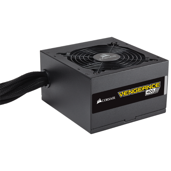 VENGEANCE Series™ 400 — 400 Watt 80 PLUS® Bronze Certified PSU