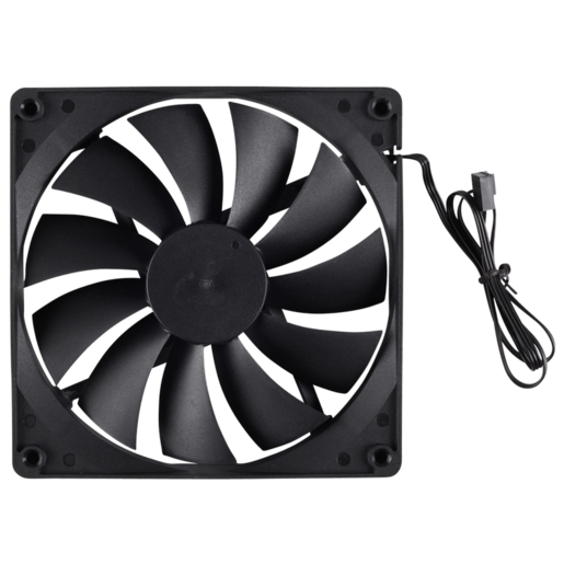 140mm intake fan for 300R chassis, black