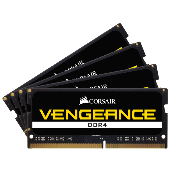 Vengeance® Series 32GB (4 x 8GB) DDR4 SODIMM 3800MHz CL18 Memory Kit