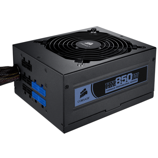 Professional Series™ HX850 — 80 PLUS® Silver Certified Modular Power Supply
