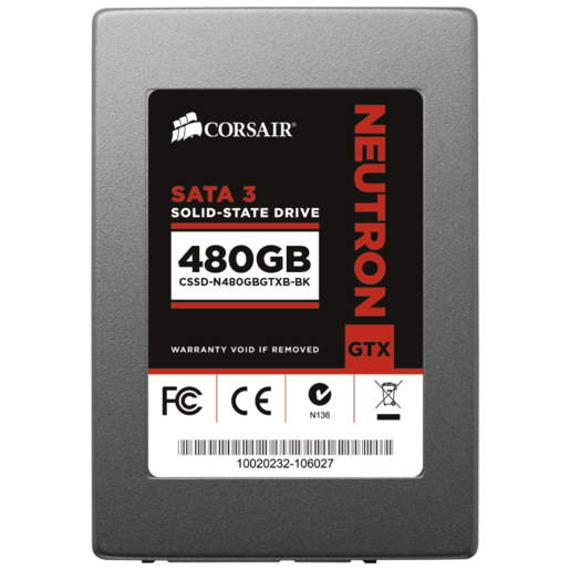 Neutron Series™ GTX 480GB SATA 3 6Gb/s SSD