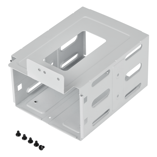 Graphite 220T RGB HDD Cage, White
