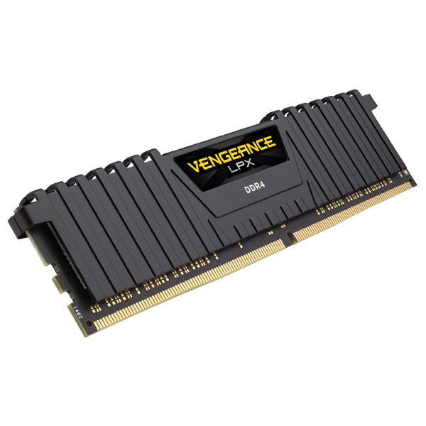 Vengeance® LPX 8GB (1 x 8GB) DDR4 DRAM 3000MHz C16 Memory Kit - Black