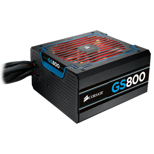 "GS Series™ GS800 — 80 PLUS® Bronze Certified Power Supply ""2013 Edition"""