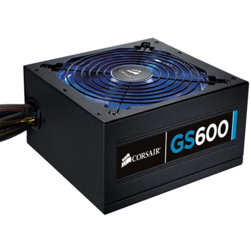 Gaming Series™ GS600 — 80 PLUS® Certified Power Supply