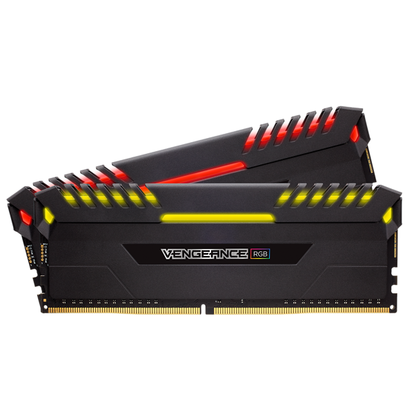 Kit de memoria C16 DRAM DDR4 a 4600 MHz VENGEANCE® LED de 16 GB (2 x 8 GB)