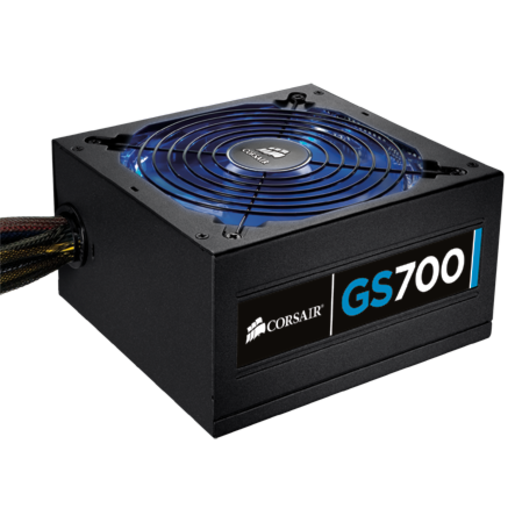 Gaming Series™ GS700 — 80 PLUS® Certified Power Supply