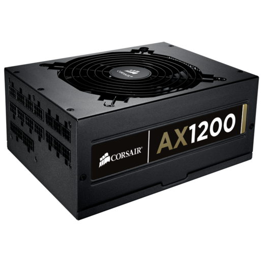 Professional Series™ Gold AX1200 — 80 PLUS® Gold Certified Fully-Modular Power Supply