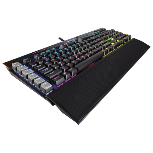 K95 RGB PLATINUM Mechanical Gaming Keyboard — CHERRY® MX Brown — Black