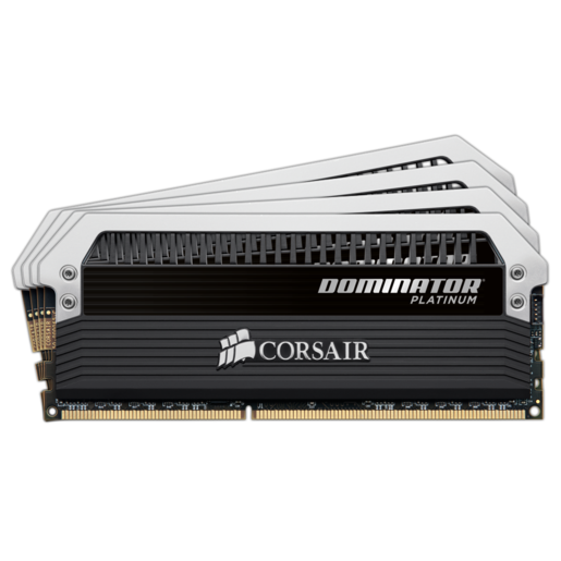 Dominator® Platinum Series — 32GB (4 x 8GB) DDR3 DRAM 1600MHz C9 Memory Kit