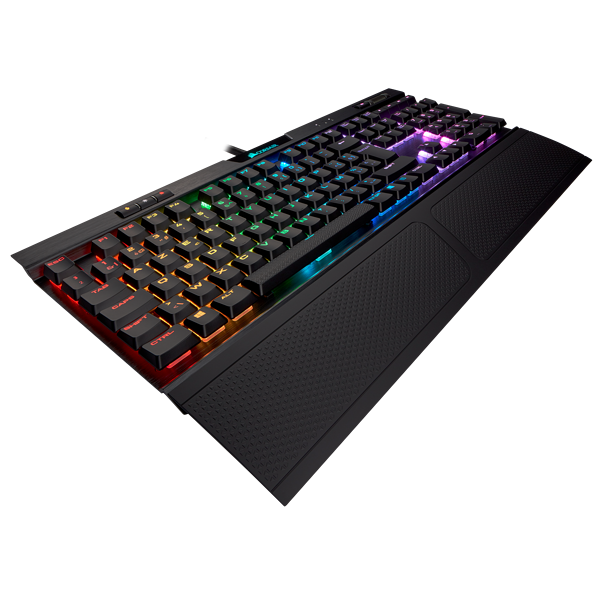 K70 RGB MK.2 Low Profile Mechanical Gaming Keyboard — CHERRY® MX Low Profile Red (BE)