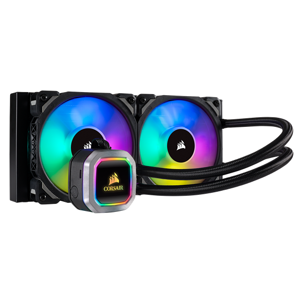 Hydro Series™ H100i RGB PLATINUM 240mm 水冷式 CPU クーラー