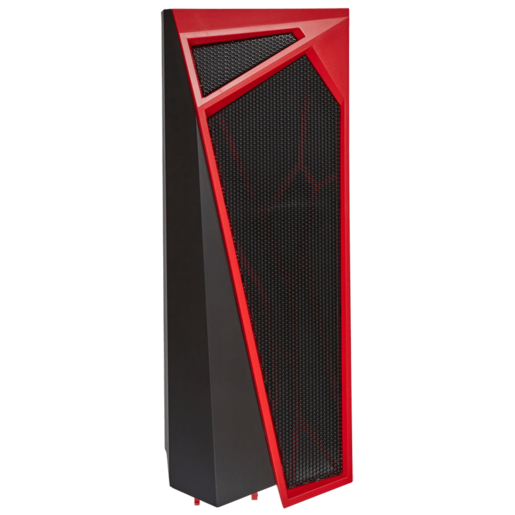 SPEC-ALPHA Top Panel, Plastic, Black and Red