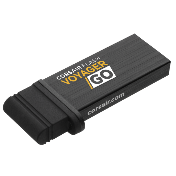 Flash Voyager GO — 64GB PC/Mobile Flash Storage Drive (Refurbished)