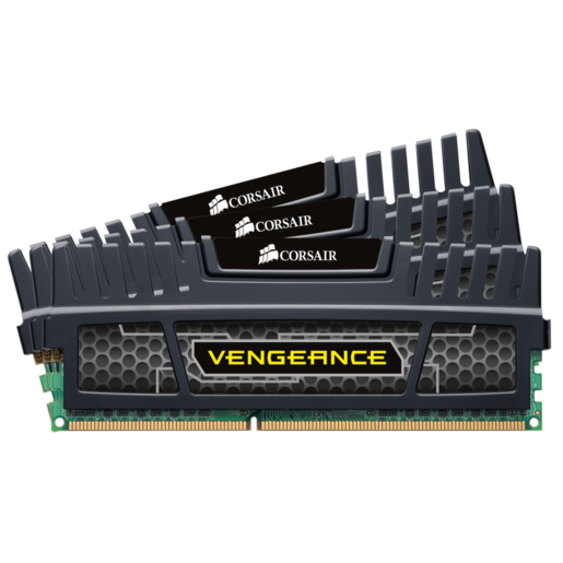 Vengeance® — 12GB Triple Channel DDR3 Memory Kit