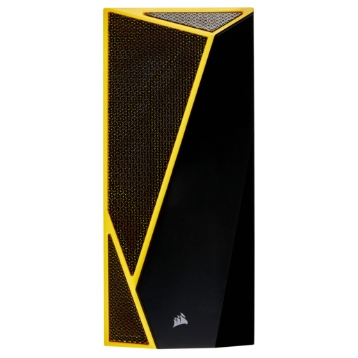 Carbide SPEC-04 Front Fascia, Black with Yellow Trim