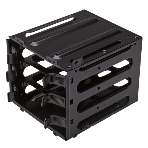 HDD upgrade kit with 3x hard drive trays and secondary hard drive cage parts (Graphite 600T, 730T, 760T, 780T) (Obsidian 450D, 650D, 750D)