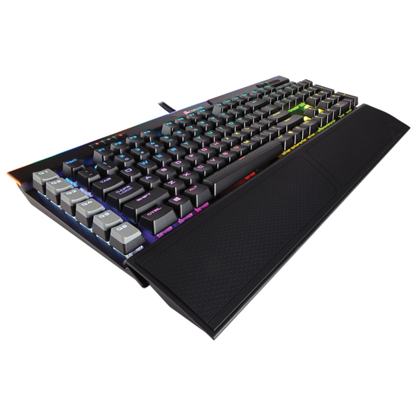 K95 RGB PLATINUM Mechanical Gaming Keyboard — CHERRY® MX Speed — Black (TR)