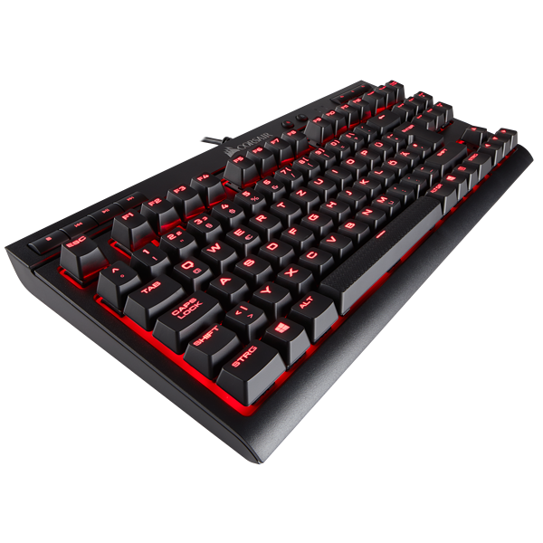 K63 kompakte mechanische Gaming-Tastatur – CHERRY® MX Red (DE)